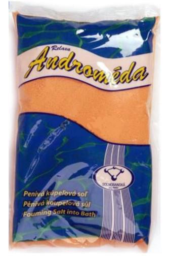 Androméda pěnivá koupelová sůl Mandarinka 1 kg