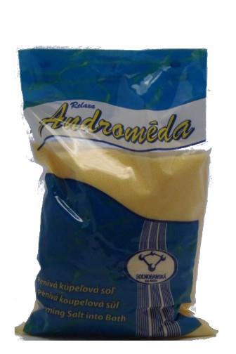 Androméda pěnivá koupelová sůl Heřmánek 1 kg