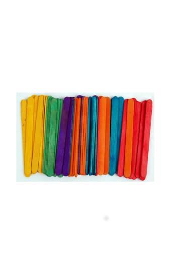 Dřívka dekorační color 150x18 mm 50ks