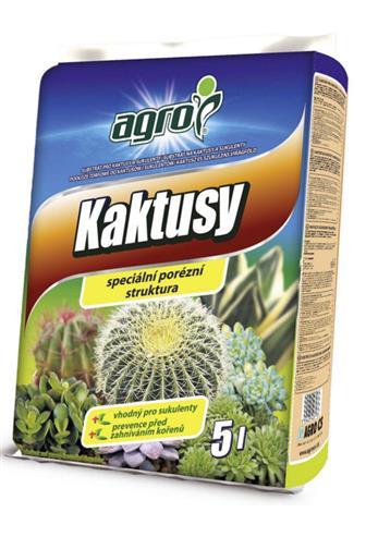 Agro Substrát pro kaktusy a sukulenty 5 l
