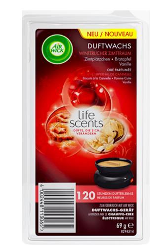 Air Wick Wax vosková náplň Melts Life Scent Vůně jablečného koláče 69 g