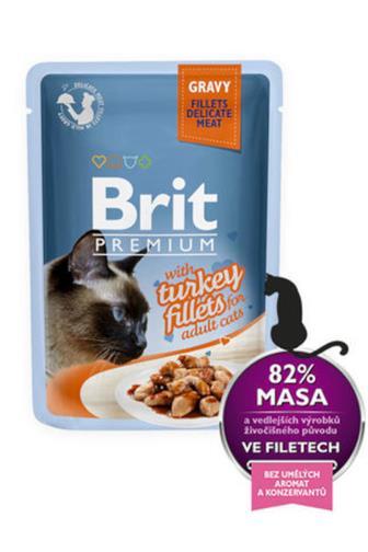Brit Premium filety s krocanem 85 g