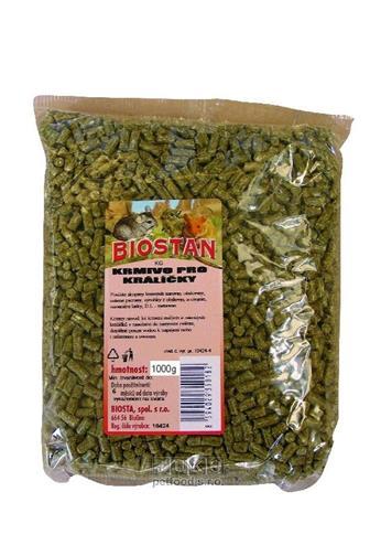 Biostan krmivo pro králíčky 1kg