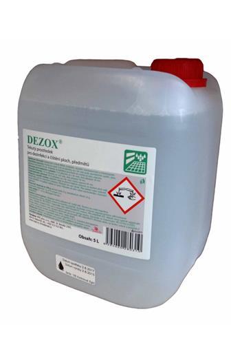 Dezox pro dezinfekci a čištění ploch, předmětů 5 l