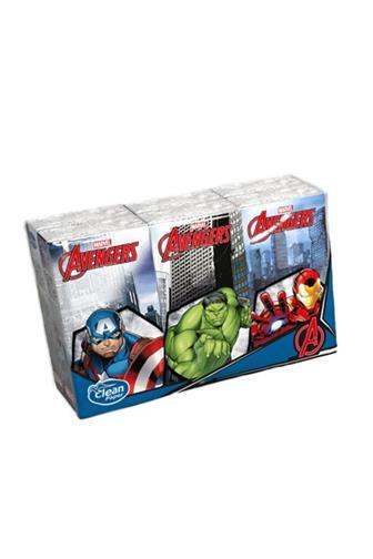 Kapesníčky 4 vrstvé Avengerst 6 x 9 ks