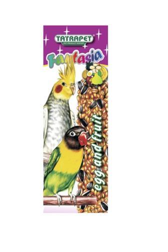 Fantasia tyčinka pro papoušky ovocná-vaječná 2ks