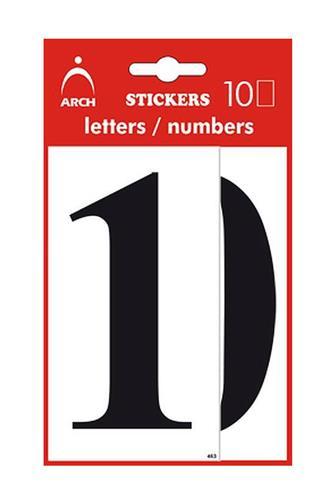 Samolepící čísla Maxi 10 cm