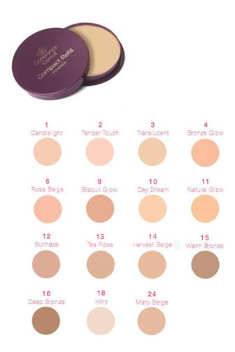 Constance Carroll pudr Compact Refill č.11 Natural Glow 12 g