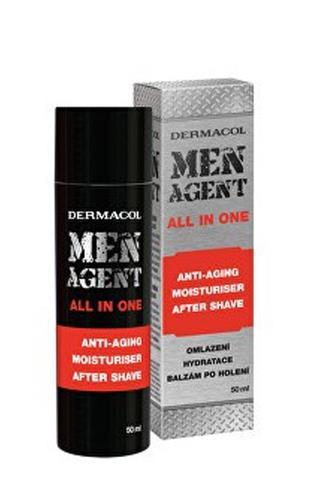 Dermacol Men Agent All in One omlazující krém balzám po holení 50ml