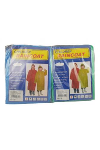 Pláštěnka dětská 100% PVC 7-12let