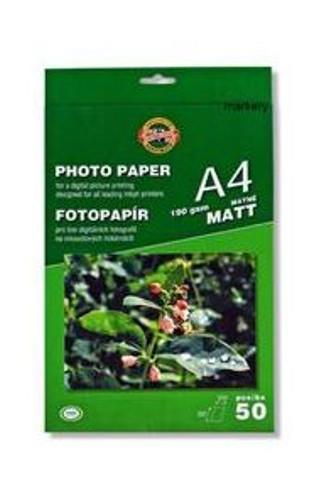 Fotopapír A4 matný 190gsm 50ks