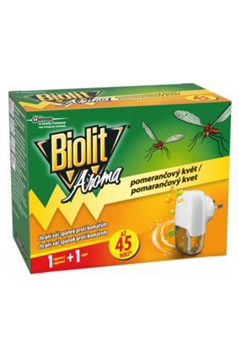Biolit Aroma elektrický odpařovač náplně s vůní pomerančového květu 45 nocí 27 ml