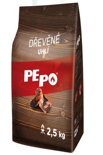 PE-PO dřevěné uhlí 2,5 kg
