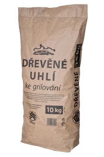 Dřevěné uhlí servis les 10 kg