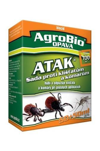 AgroBio ATAK - Sada proti klíš.50 + 50 ml