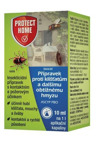 Bayer Garden Protect home přípravek proti klíšťatům a obtížnému hmyzu 10 ml