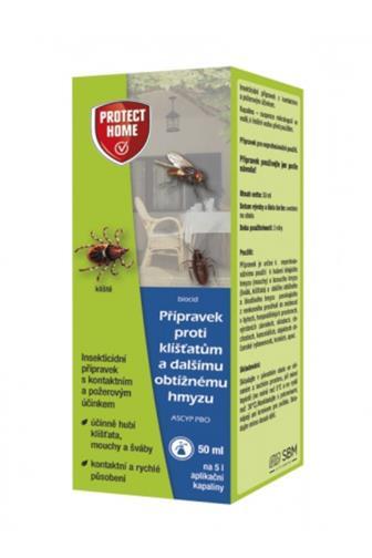 Bayer Garden Protect home přípravek proti klíšťatům a obtížnému hmyzu  50 ml