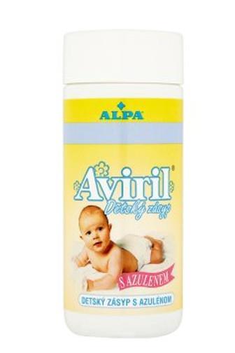 Alpa AVIRIL dětský pudr s azulenem 100 g