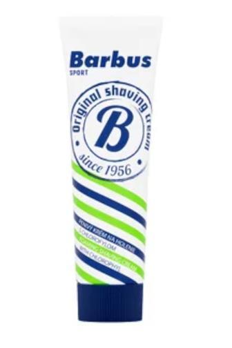 Barbus pěnivý krém s chlorofylem 75 g