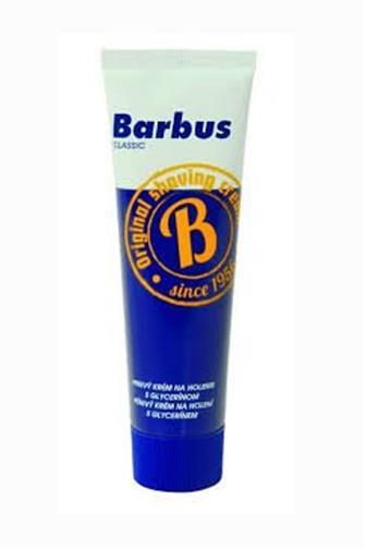 Barbus pěnivý krém s glycerinem 75 g