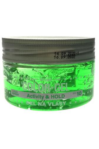 Color gel na vlasy Kopřiva (zelený) 190ml