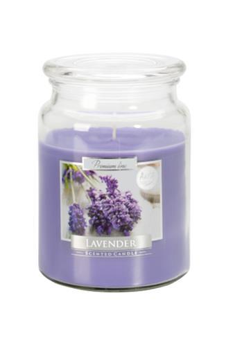 Bispol Aura svíčka vonná Lavender 500 g