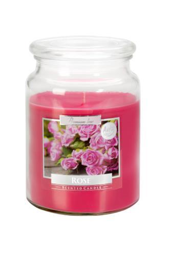 Bispol Aura svíčka vonná Rose 500 g