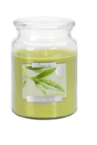 Bispol Aura svíčka vonná Green tea 500 g
