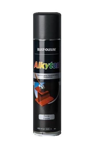 Alkyton CombiColor kovářská černá sprej 400 ml