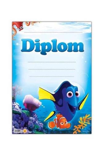 Diplom A4 Disney (ryby)