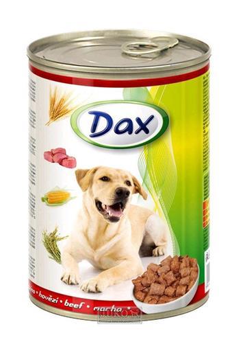 Dax hovězí krmivo pro psy 415 g