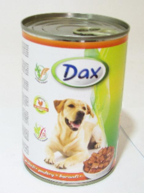 Dax kuřecí krmivo pro psy 415 g