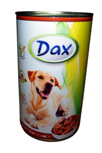 Dax hovězí krmivo pro psy 1240 g