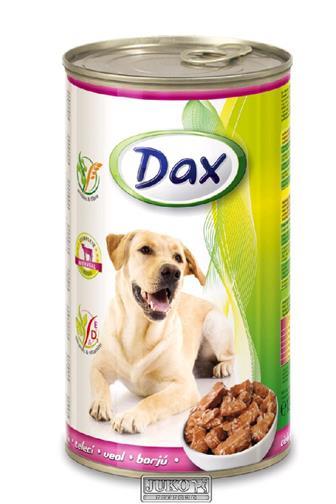 Dax telecí krmivo pro psy 1240 g