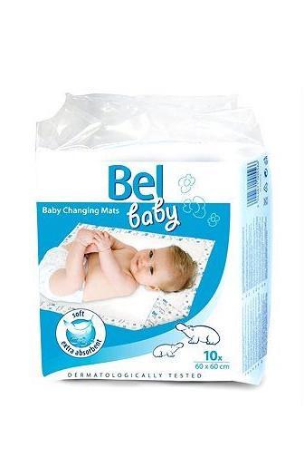 Bel baby podložka pro kojence 60 x 60cm 10 ks