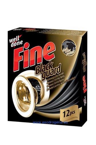 Well Done Fine Black ubr.na obnovu barvy 12 ks
