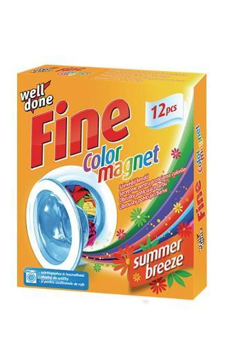 Well Done Fine Color ubr.pohlc.barvu s vůní 12 ks