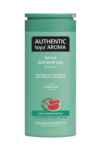 Authentic Toya Aroma Red Watermelon aromatický sprchový gel 400 ml