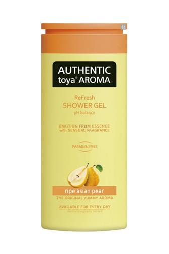 Authentic Toya Aroma Ripe Asian Pear aromatický sprchový gel 400 ml