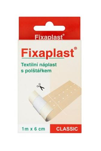 Fixaplast Classic 1m x 6cm textilní