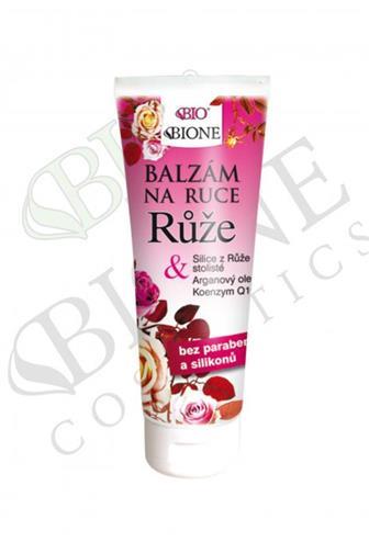 Bione Cosmetics BIO balzám na ruce Růže 205 ml