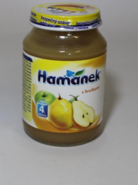 Hamánek s hruškami od 4.měs. 190g