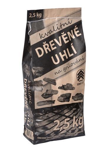 Dřevěné uhlí Servis les 2,5 kg