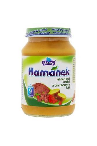 Hamánek jehněčí soté s mrkví a bramb.kaší od 6měs.190g