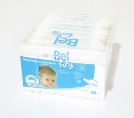 Bel Baby vatové tyčinky aloe vera 56ks