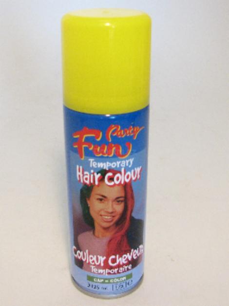 Fun Hair Colour žlutá 125ml