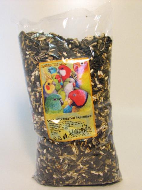 Směs pro střední papoušky 1 kg