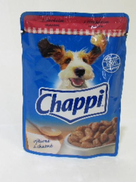 Chappi s hovězím masem 100 g