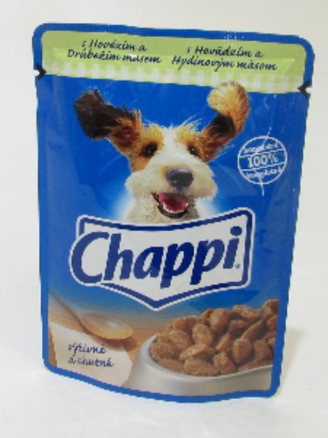 Chappi s hovězím a drůbežím masem 100 g