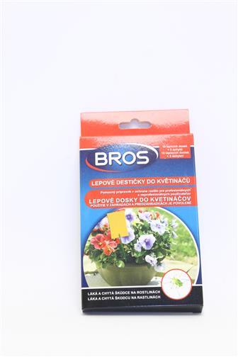 Bros lepové desky do květináčů 10 ks